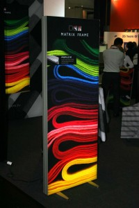 Fabric Wall at Euroshop 2011
