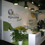 Green Exhibition Stand