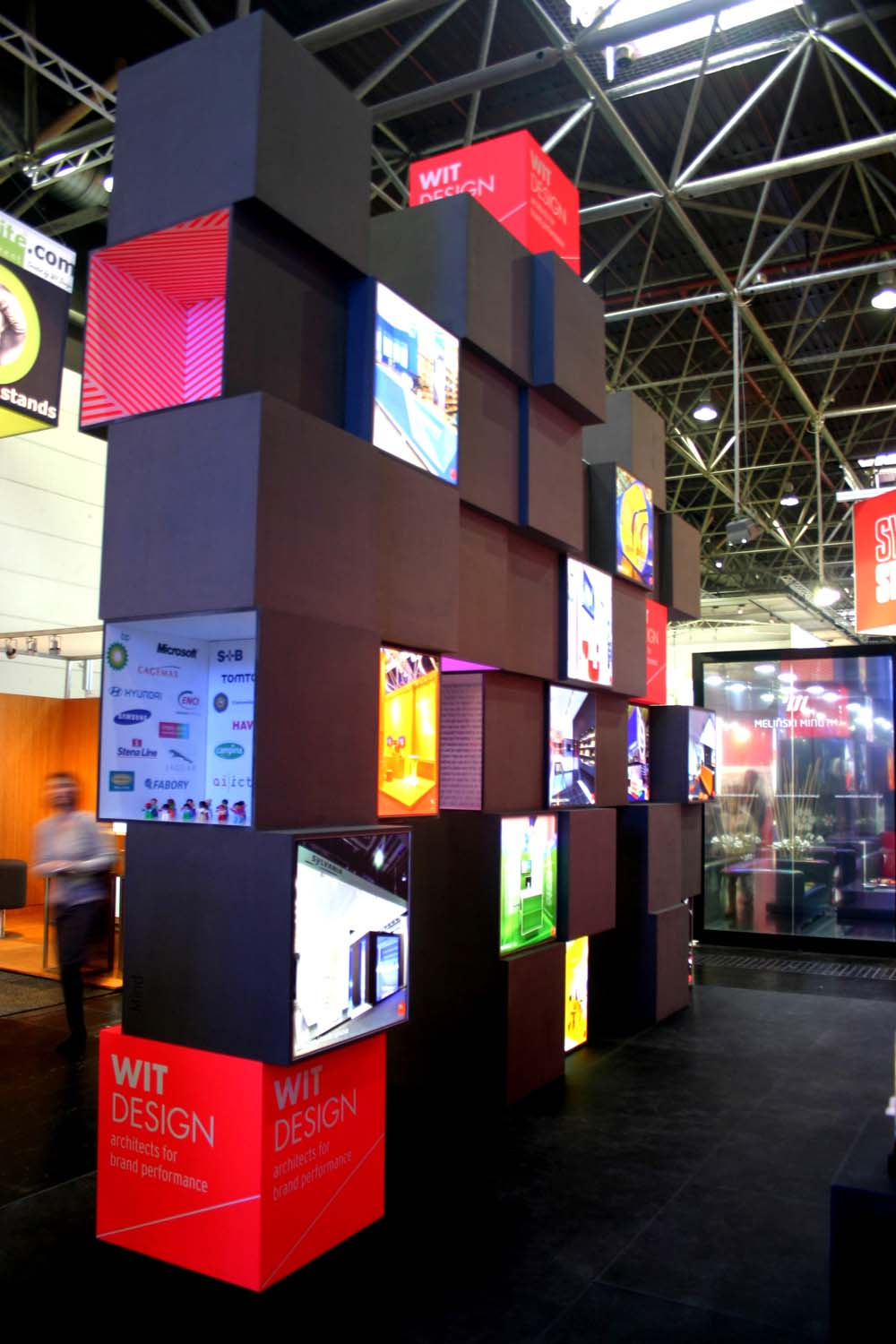 Exhibition Stand Graphic Design : Exhibition design stef s
