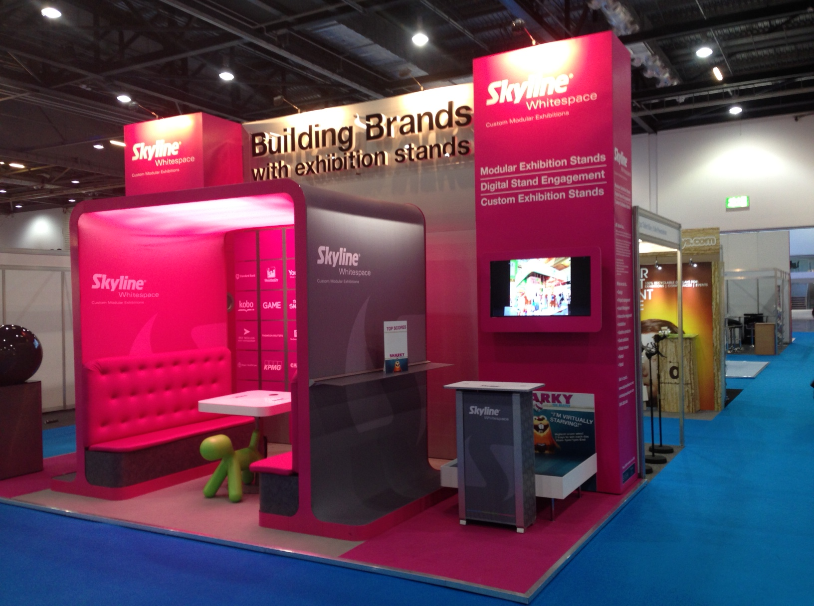 Marketing Exhibition Stand Example : Exhibition design stef s